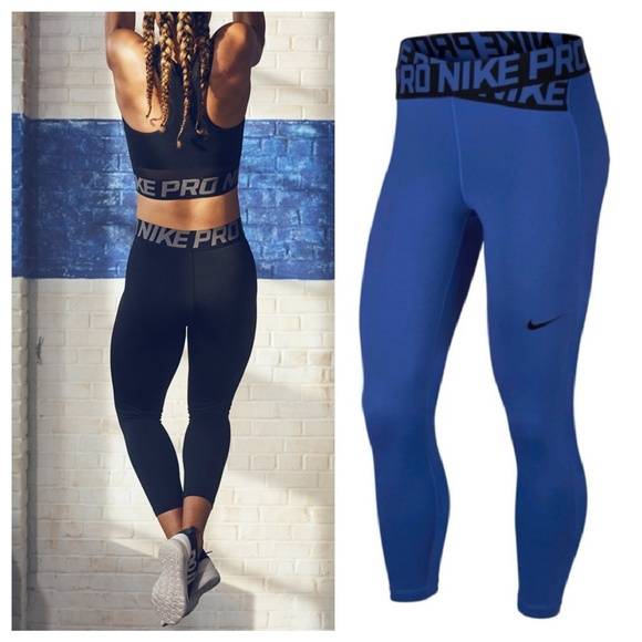 fcaebc833284c4 Nike Pants | Pro Intertwist 78 Training Crops | Poshmark